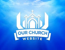 our church design graphic logo