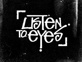 listen to eyes design logo