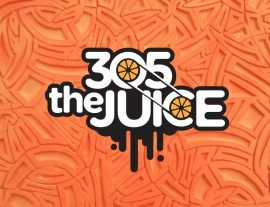 305 juice logo design
