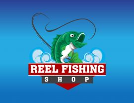 fishing logo mascot