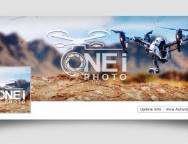 one i photo social media design
