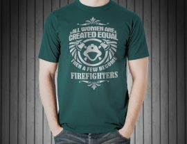 firefighter graphic tees