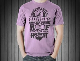 horse graphic tees